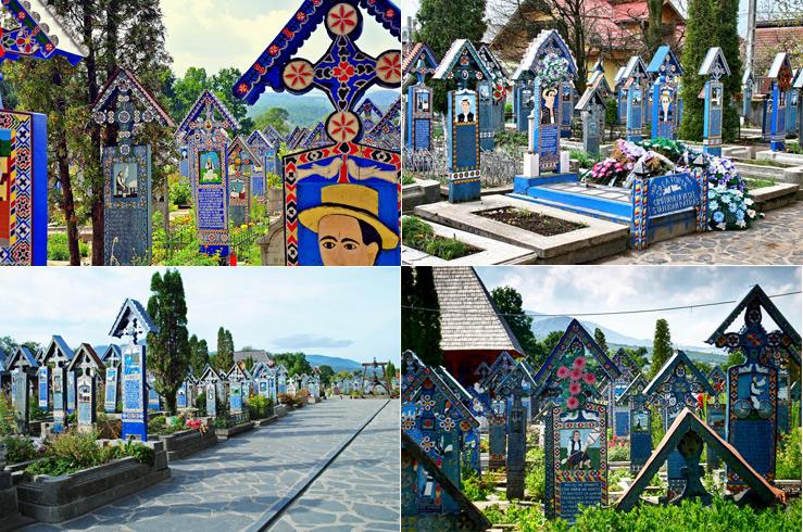 5. «Весёлое кладбище» (Merry Cemetery), Румыния, Сапанта
