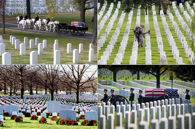 2.Арлингтонское кладбище (Arlington National Cemetery), США