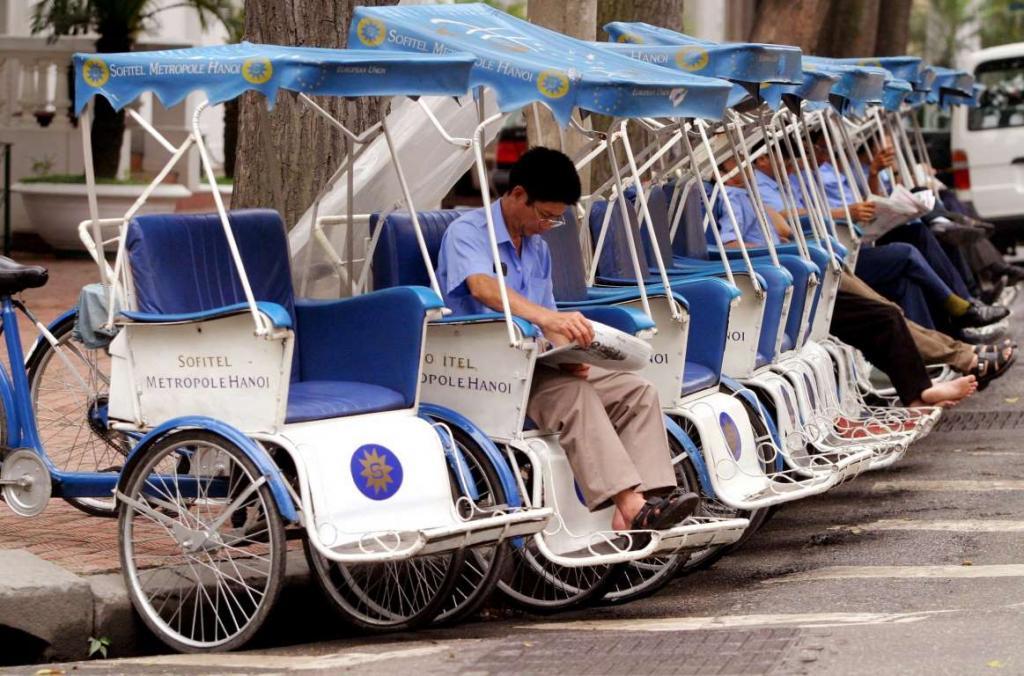 8. Велорикша (cyclo).