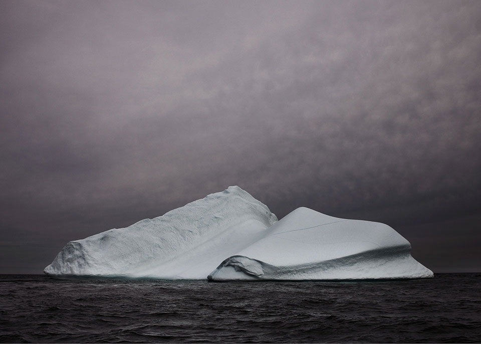 Залив Диско, Гренландия: таяние.