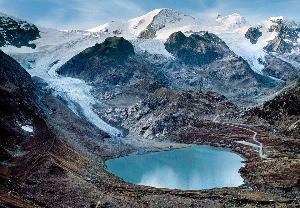 Ледник Штайнглетчер, Швейцария, 2006 год. В скором времени ледник превратится в озеро.