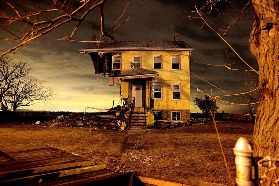 Юнион Бич, Нью-Джерси, США. Призраки урагана Катрина.