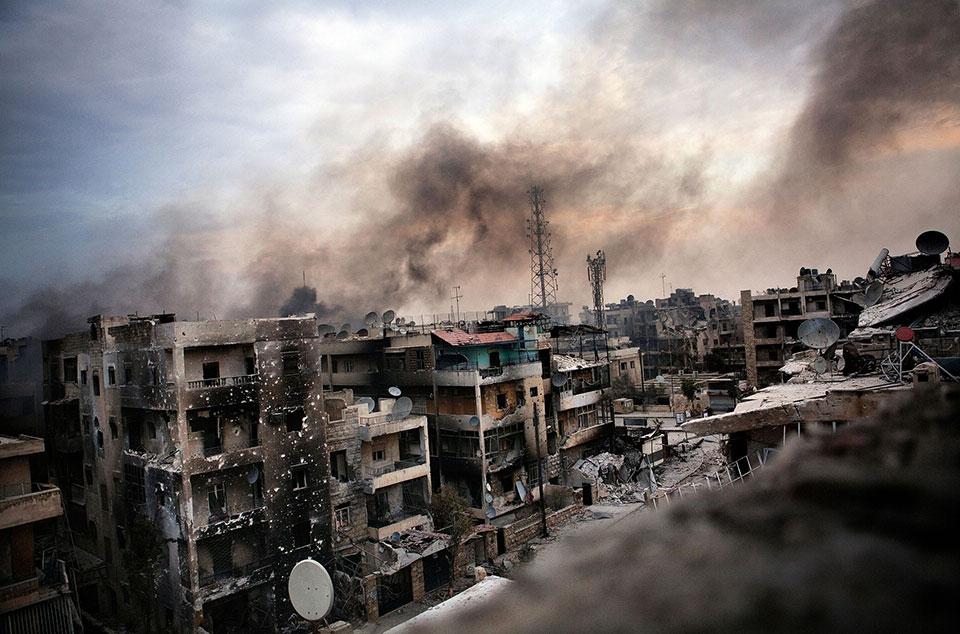 Алеппо, Сирия: Ад на Земле.