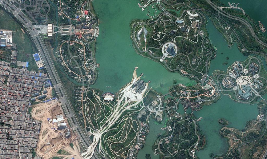Китай. Шиюань парк.