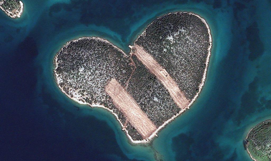 Хорватия. Остров Любви.