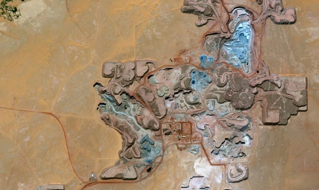 Нигер. Урановый рудник.
