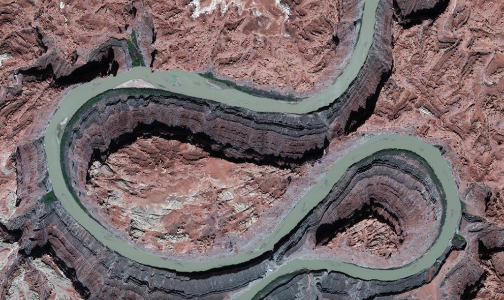 Юта, США. Река Колорадо.