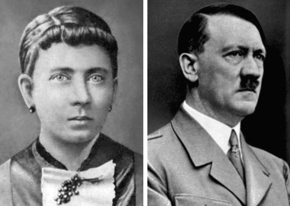 3. Мать Адольфа Гитлера — Клара Пельцль (1860-1907).