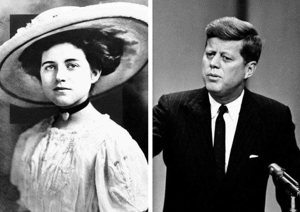 4. Мать Джона Кеннеди — Роуз Фицджеральд (1890 - 1995).