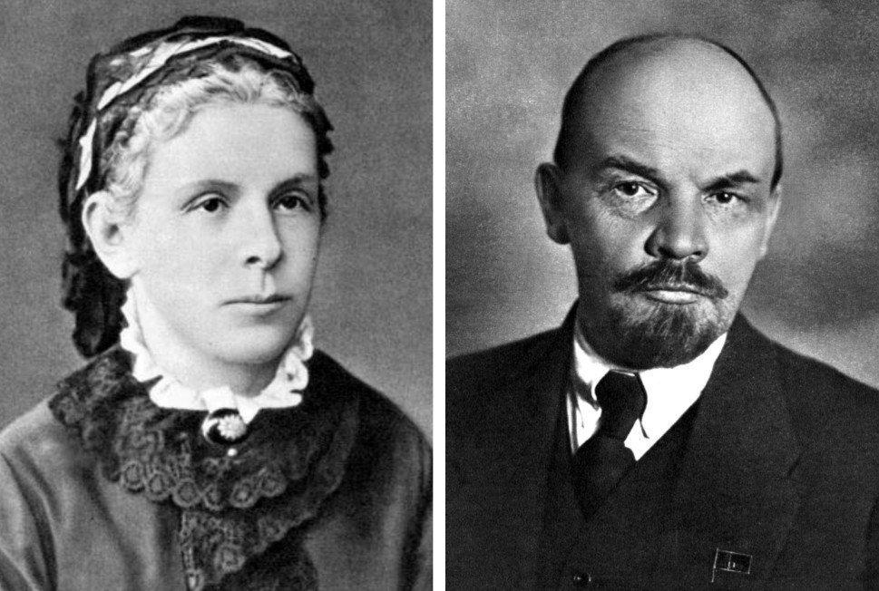 5.Мать Ленина — Мария Александровна Бланк (1835 - 1916).