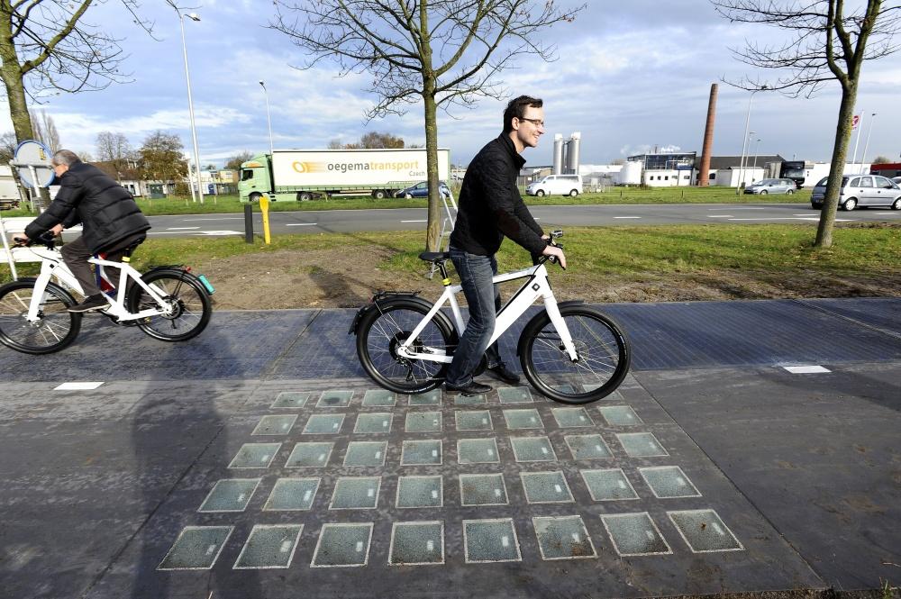 Солнечная велосипедная дорожка