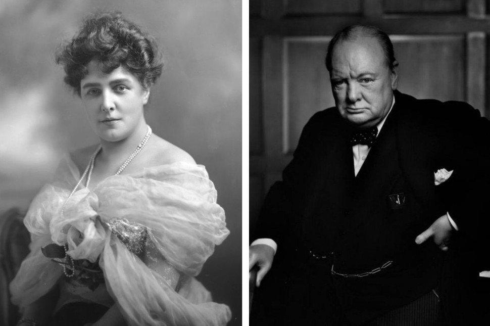 6. Мать Черчилля — Дженни Джером (1854 — 1921).