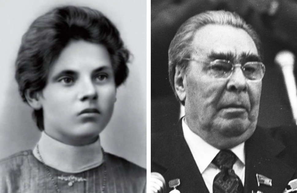 7. Мать Брежнева — Наталья Денисовна Мазалова (1886 —1975).