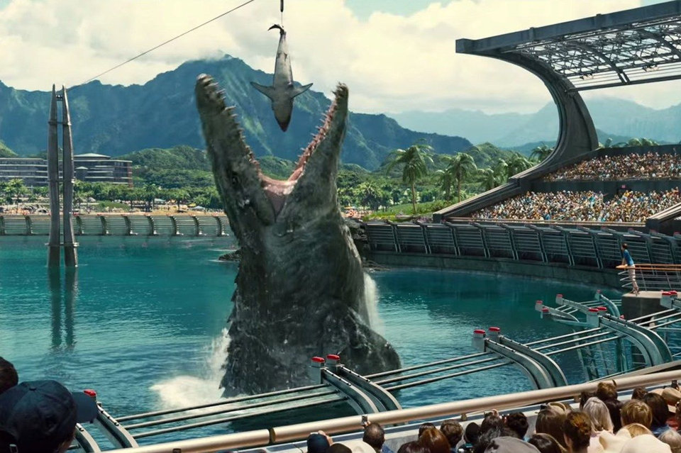 Смерть Зары («Мир Юрского периода/ Jurassic World», 2015)