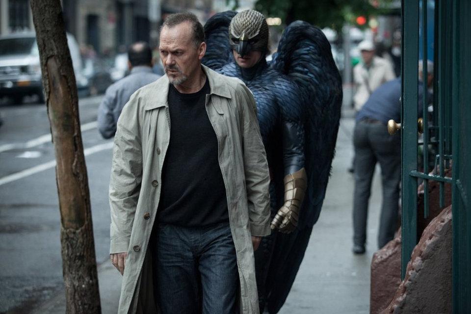Экшен-сцена («Бердмэн/ Birdman or (The Unexpected Virtue of Ignorance)», 2014)