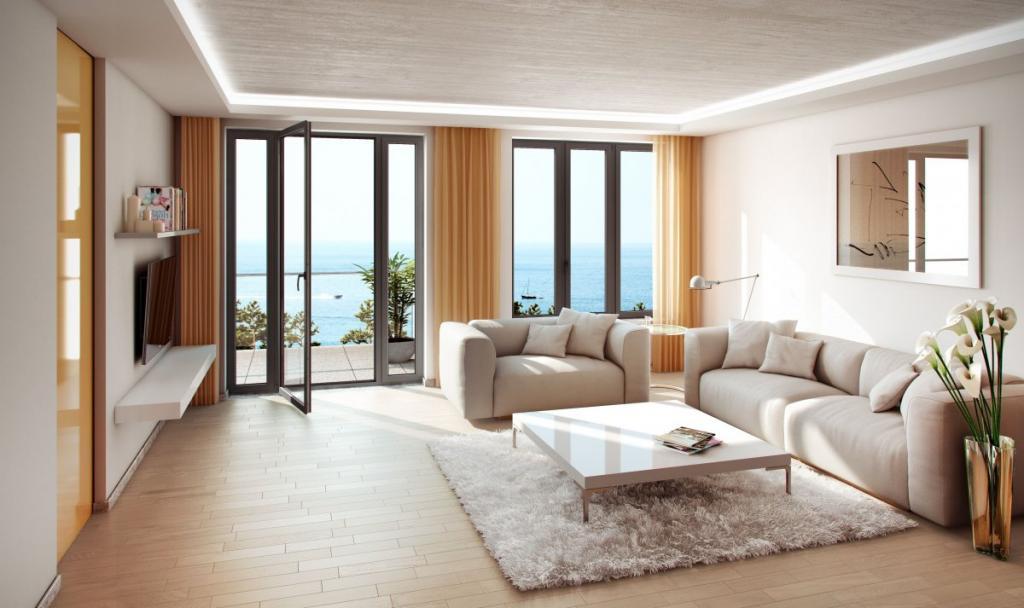 Более скромные помещения стоят дешевле.