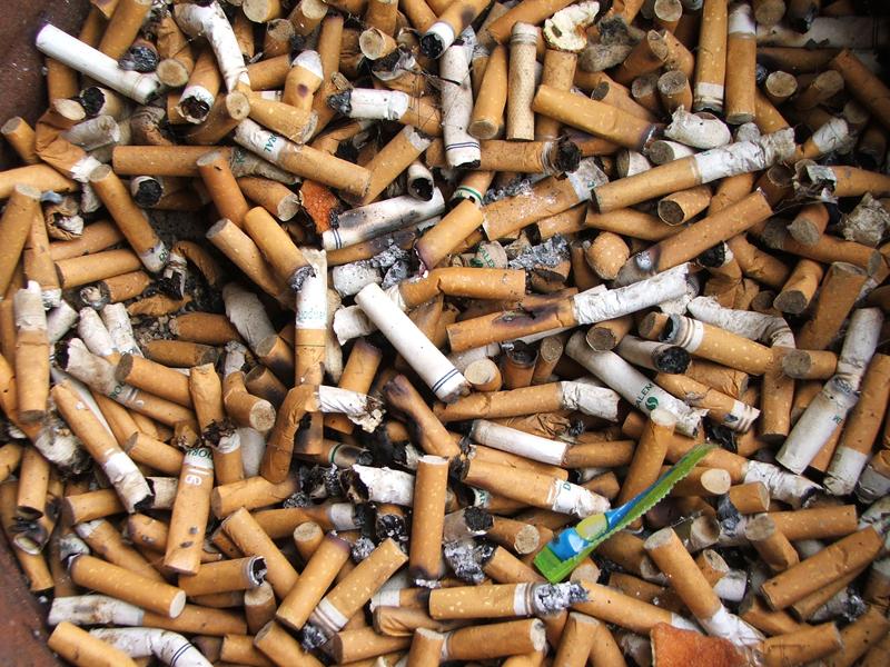 Сигареты и окурки