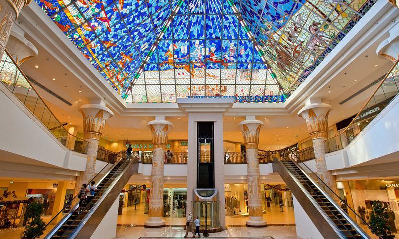 Wafi Mall, Дубай