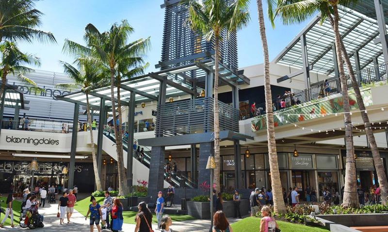 Ala Moana Shopping Center, Оаху, Гавайи