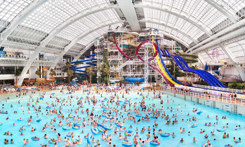 West Edmonton Mall, Альберта, Канада