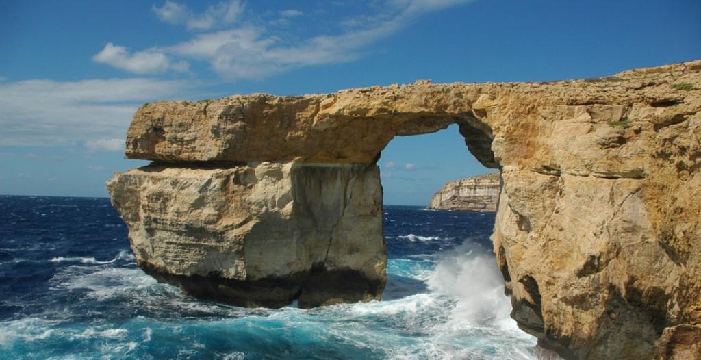 Место венчания Дэйнерис и кхала Дрого Лазурное Окно, Мальта