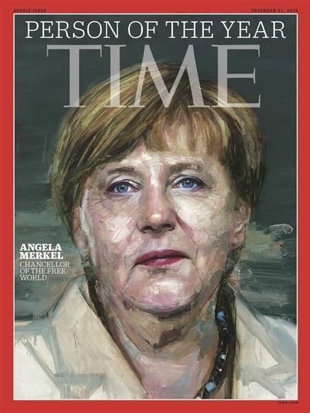 1. Ангела Меркель названа Человеком года 2015 по версии журнала Time.