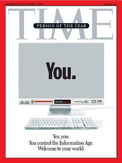 10. «ТЫ» был выбран Человеком года в 2006 году. Эта награда – собирательный образ миллионов пользователей интернета. Обложка была сделана зеркальной.
