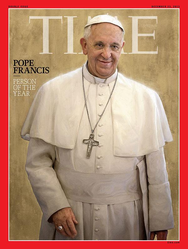 3. Папа Франциск был назван Человеком года 2013. За ним идут бывший агент национальной безопасности США Эдвард Сноуден и президент Сирии – Башар Асад.