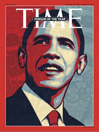 8. В 2008 Человеком года стал Барак Обама. В 2008 Обама стал первым афроамериканским президентом США.