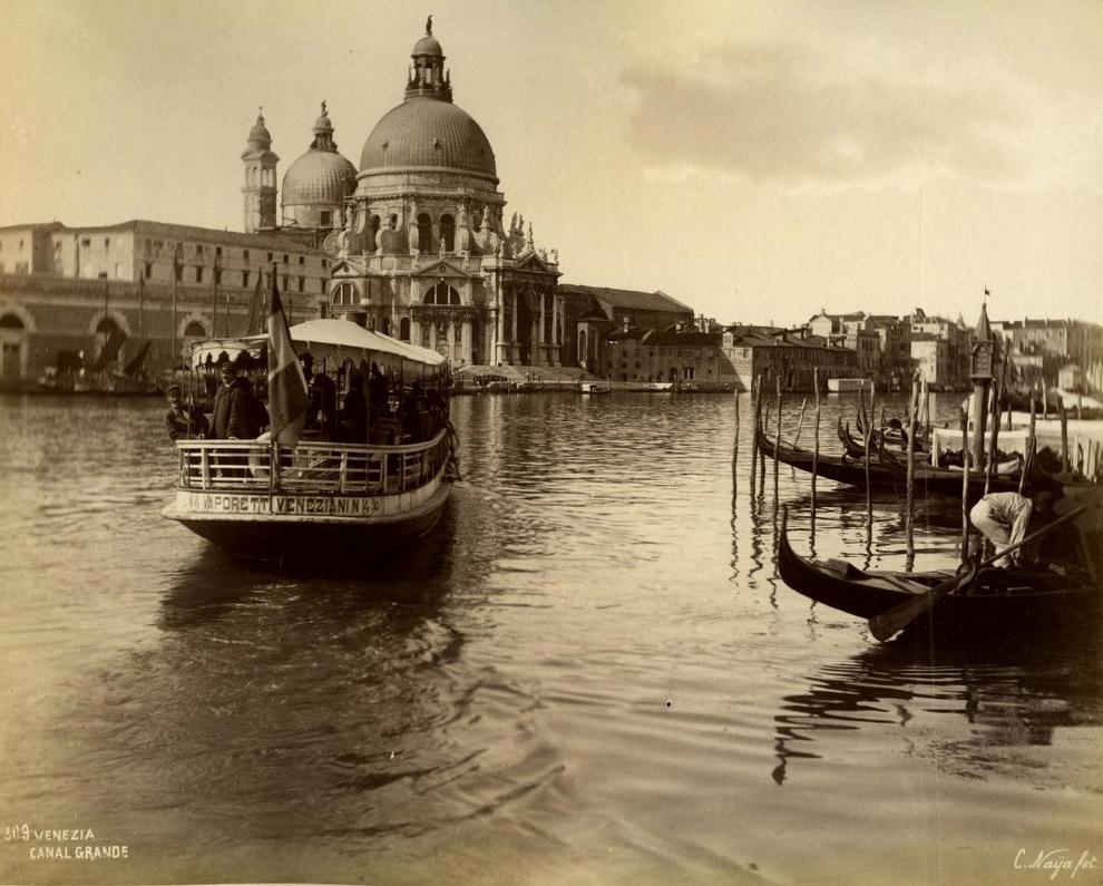 Гранд-канал. 1870 год.