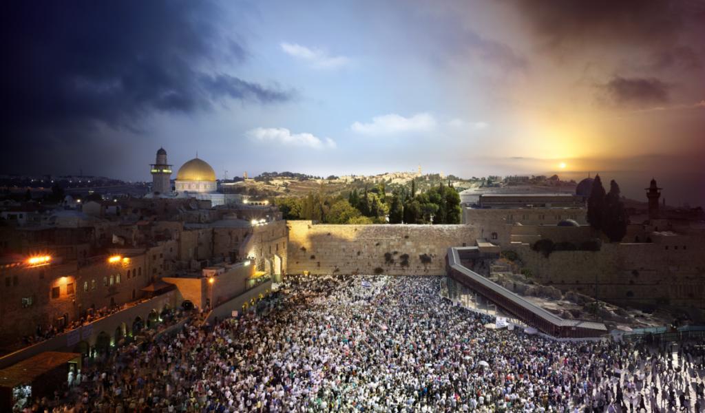 9. Западная Стена, Иерусалим, 2013 год