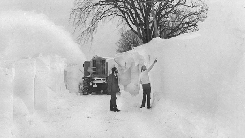 Баффало, США 1977 — 506 сантиметров снега