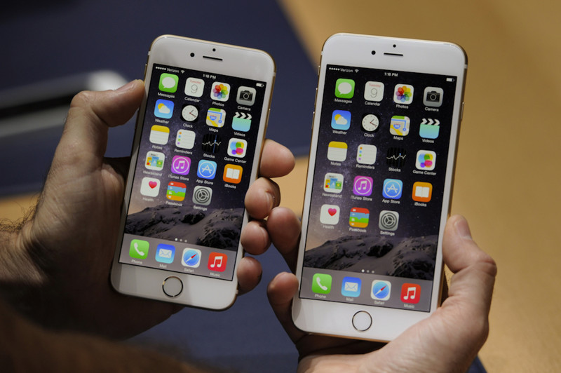 2014 — iPhone 6 и 6 Plus