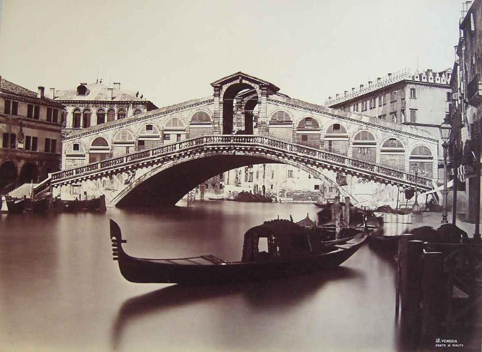 Мост Риальто, 1875.