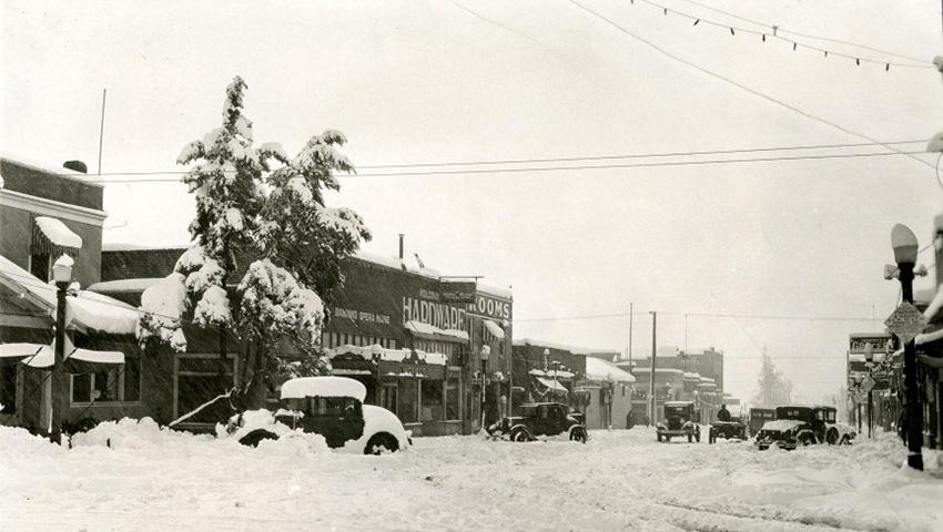 Гора Шаста, США 1959 — 480 сантиметров снега