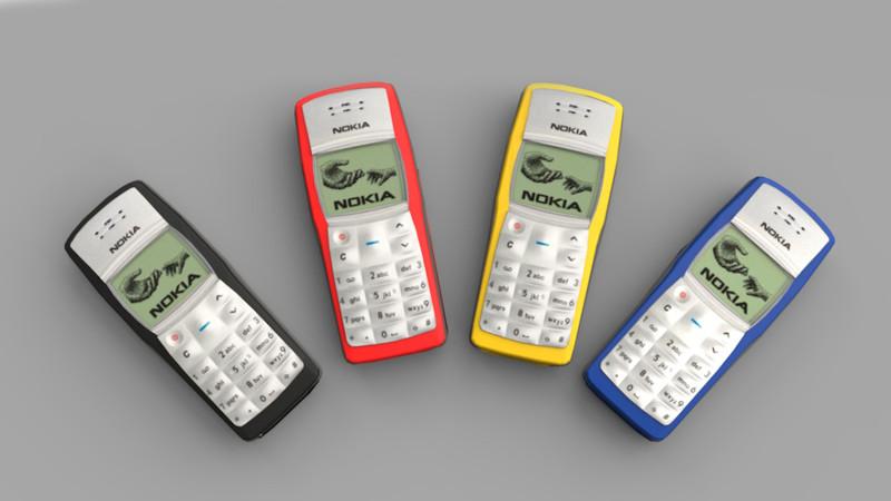2003 — Nokia 1100