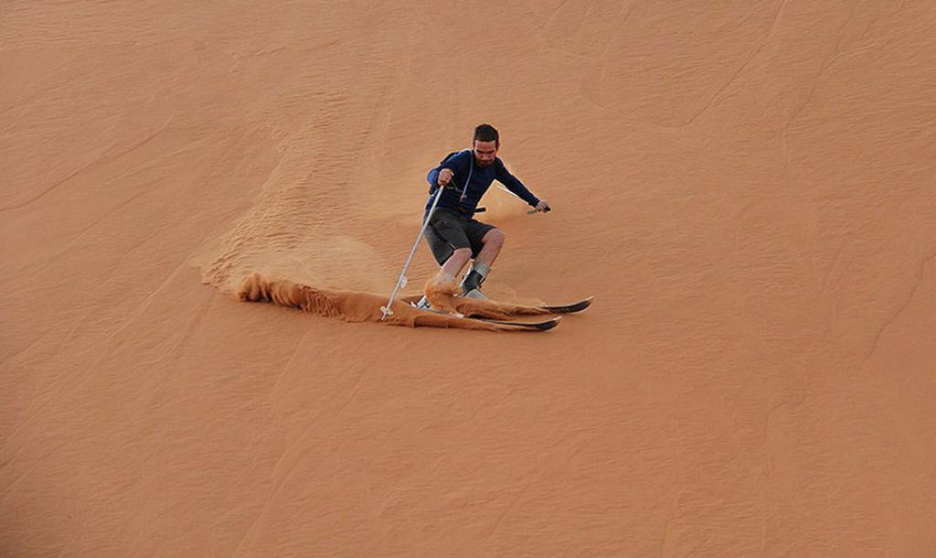 А Вы Знаете, Как Катаются На Горныx Лыжаx В Африке?