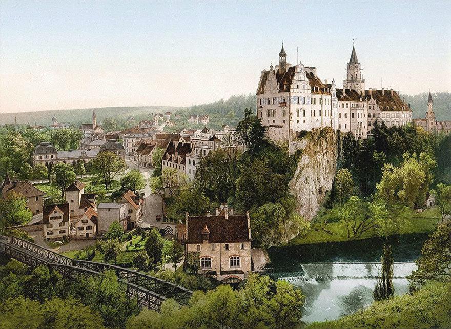 Замок Зигмаринген.