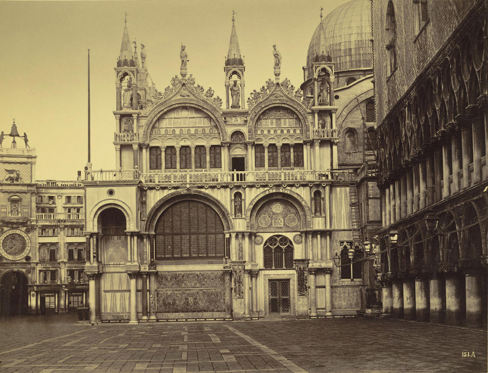 Базилика Святого Марка и Дворец Дожей.