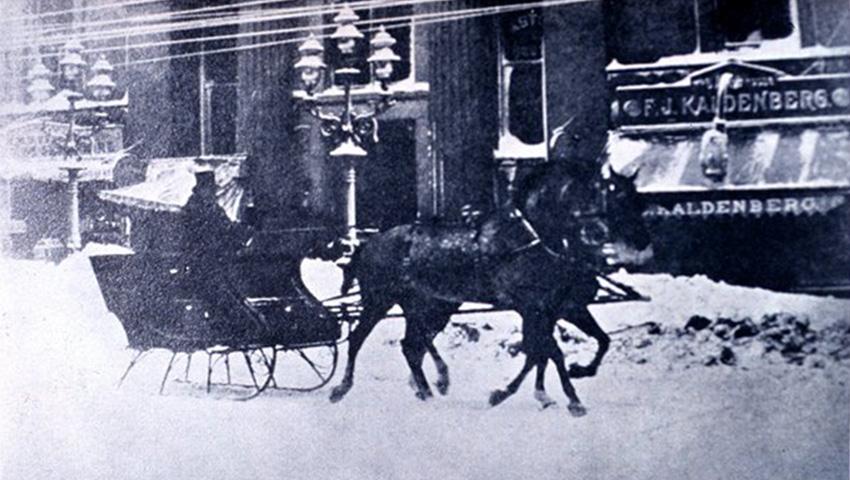 Саратога-Спрингс, США 1888 — 147 сантиметров снега