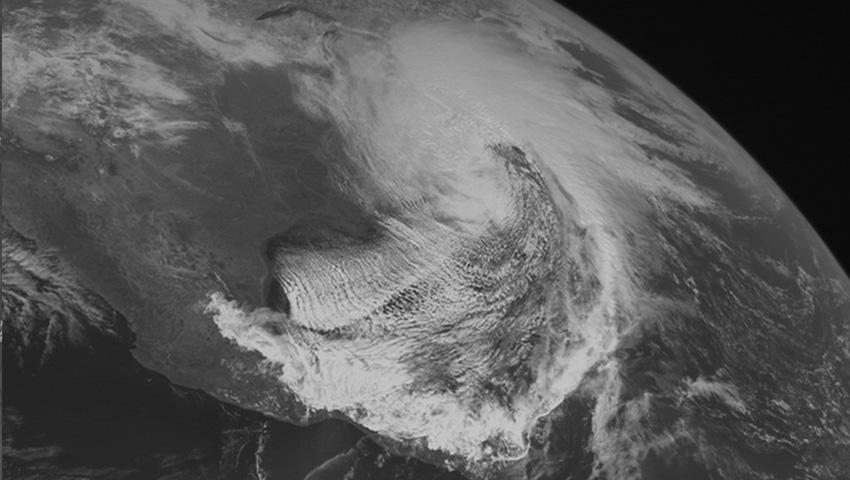 Район Катскильских гор и Апалач 1993 — 127 сантиметров снега