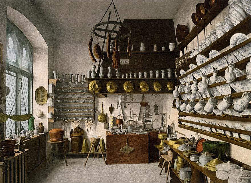 Традиционная немецкая кухня.