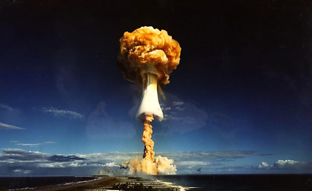 Чем водородная бомба отличается от атомной