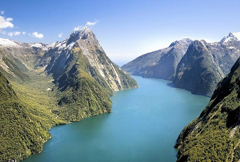 Те-Вахипунаму, Новая Зеландия