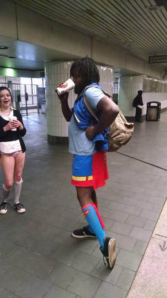 Супермен из Атланты.