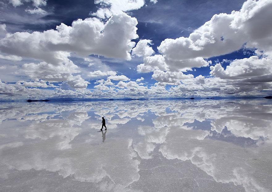 1. Уюни – крупнейший в мире солончак, Боливия
