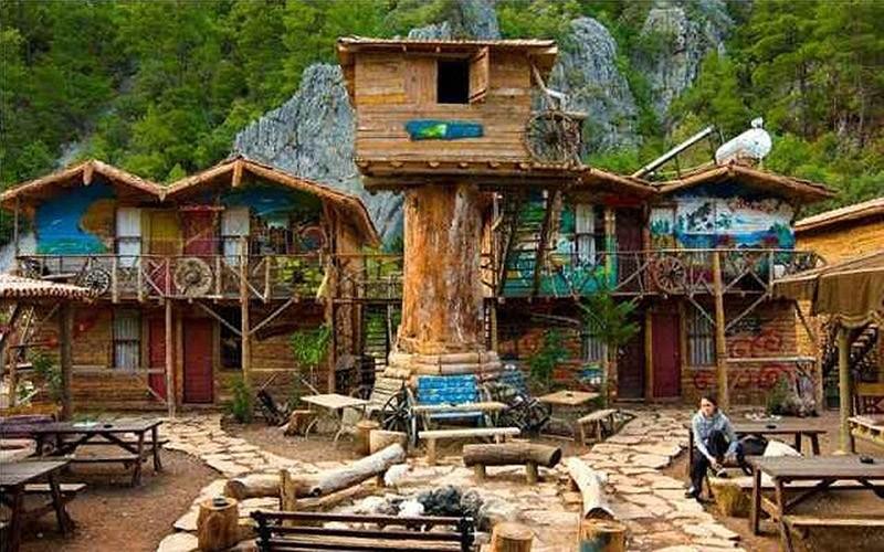 3. Дом дерева Кадира (Kadir's Tree House), Олимпос, Турция