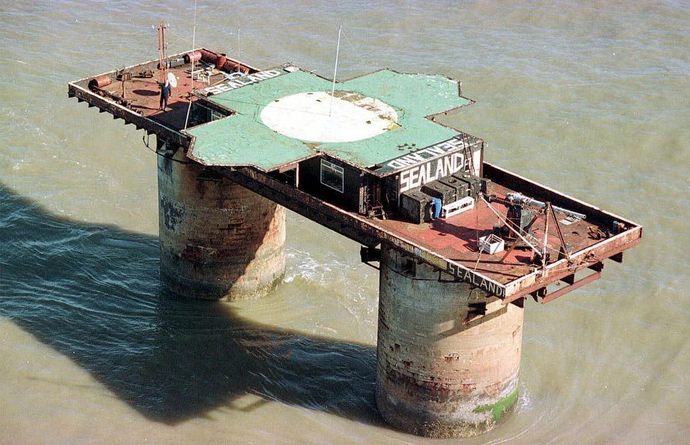 7. Княжество Силенд: остров несбывшихся надежд