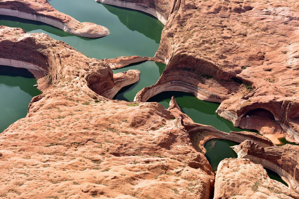 Река Колорадо и каньон Глен в Аризоне, США.