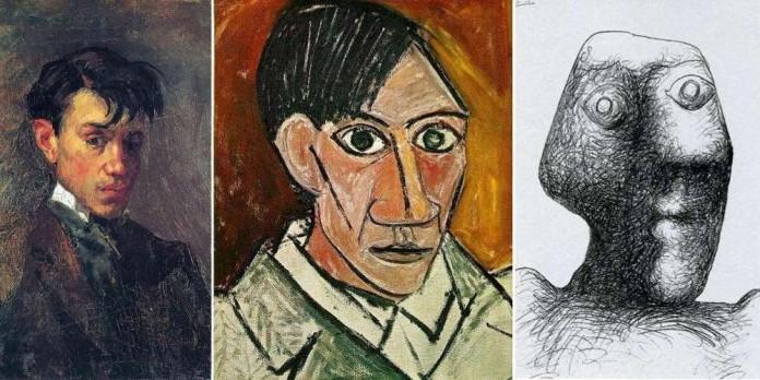 Коллекция автопортретов Пабло Пикассо — от 15 до 90 лет